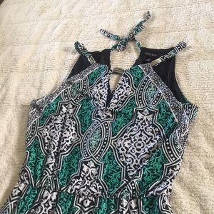 Brand new Geo print Maxi dress